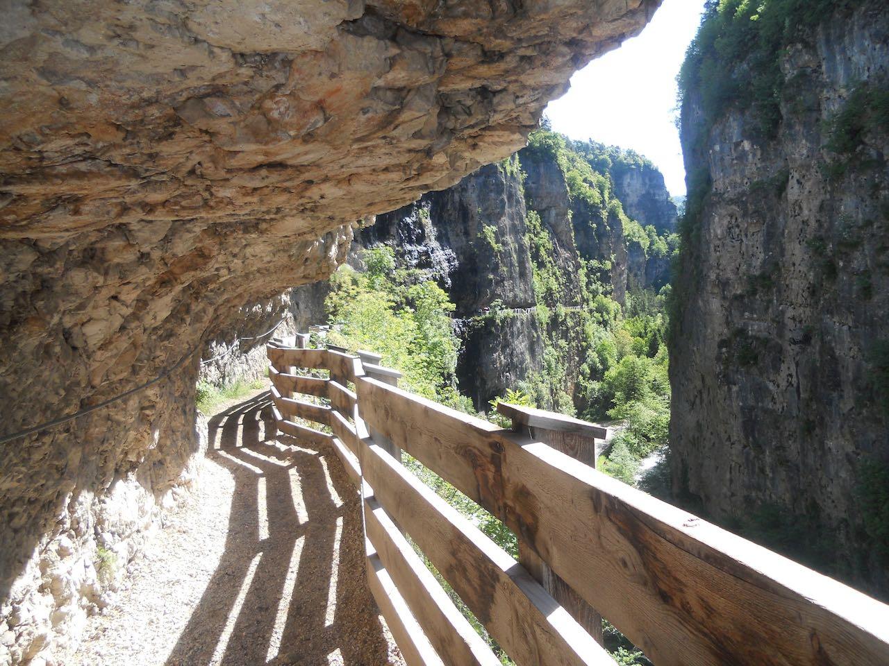 Sentiero panoramico verso San Romedio