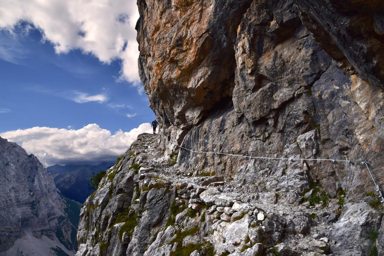 sentiero 318 verso il rifugio Brentei (Foto di Aldo Borghetti)