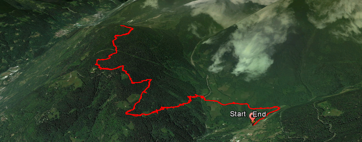 Dosso Toricla 874 m.