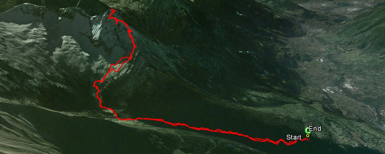 Pizzo Badile Camuno 2435 m.