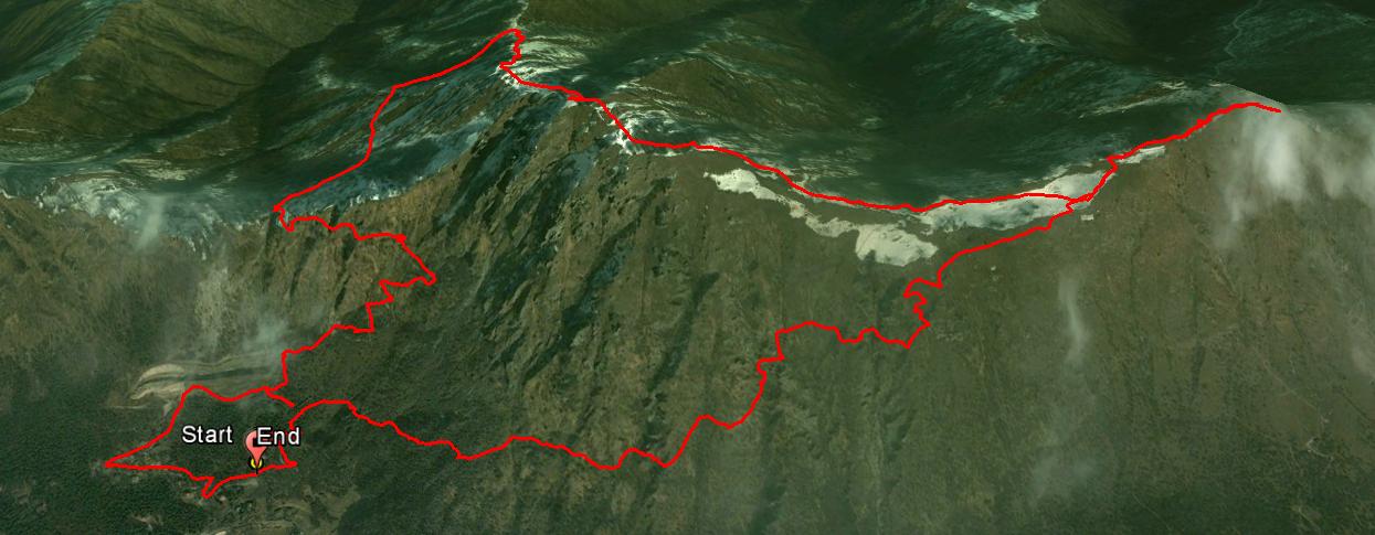 Corna di Savallo 1436 m. , Monte Palo 1457 m.