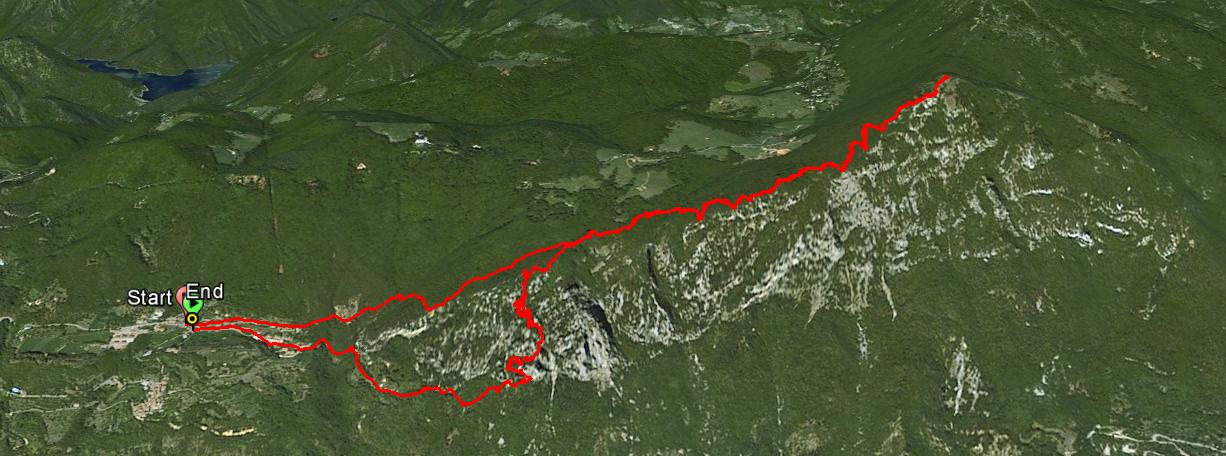 Cima Comer 1281 m.