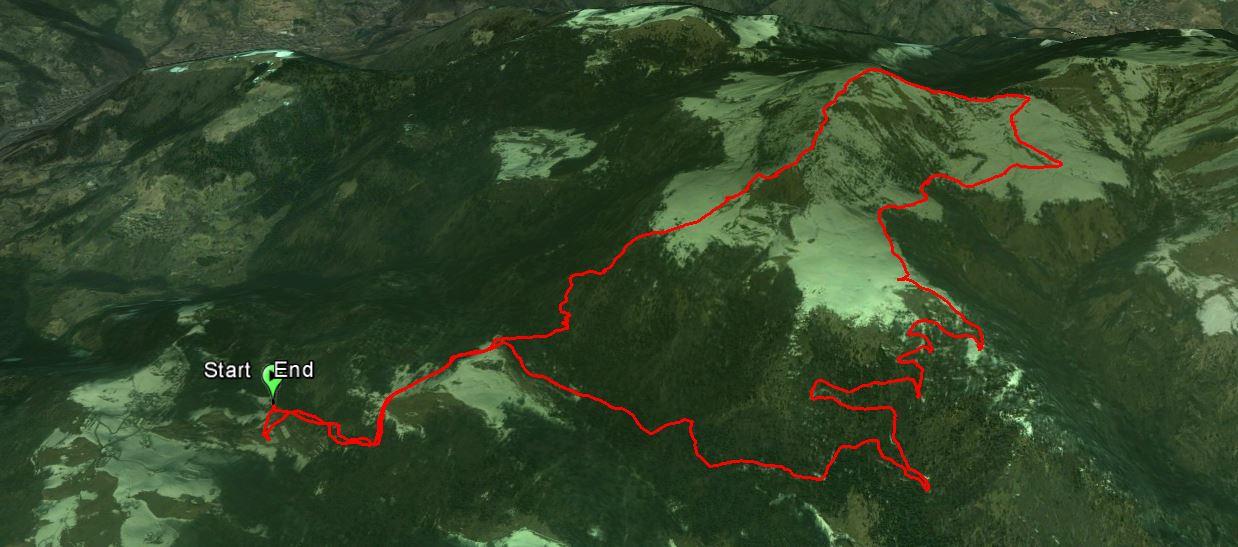 Monte Ario 1755 m.