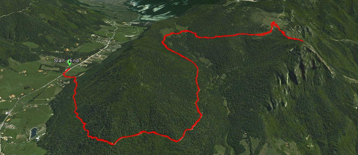 Monte Ghigozzo 1599 m.