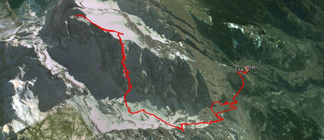 Cima della Bacchetta 2549 m.