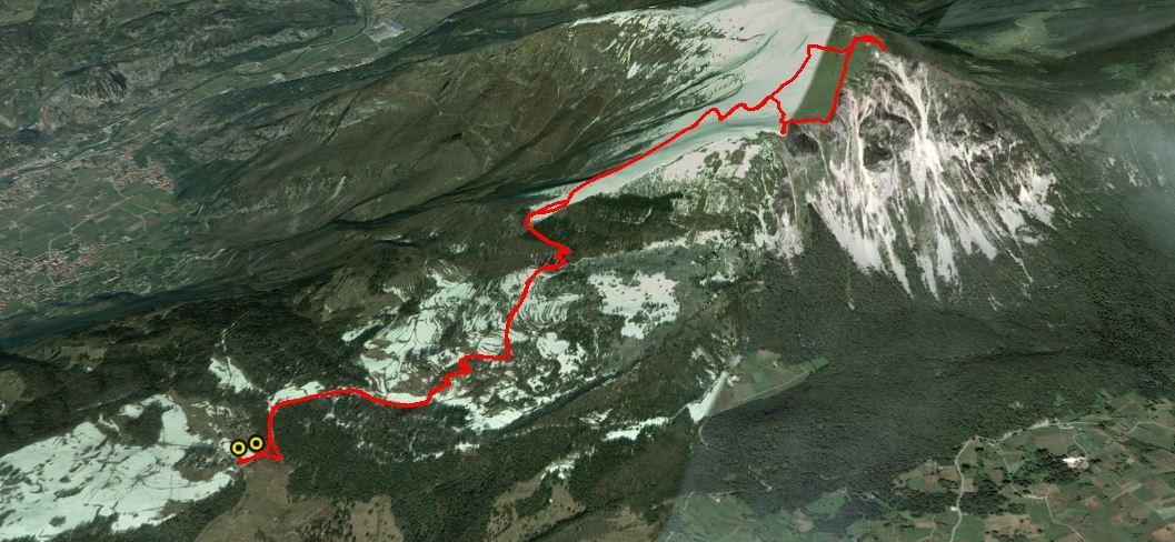 Monte Stivo 2054 m.