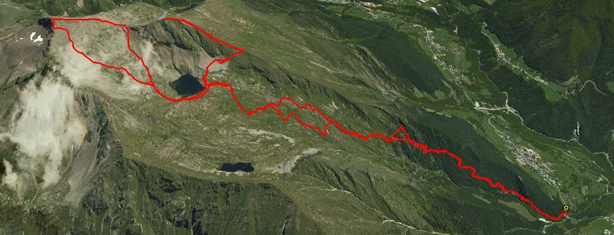 Pizzo Tornello 2687 m. , Monte Tornone 2573 m.