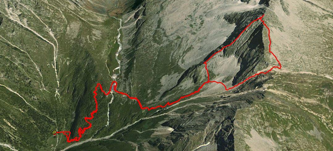 Corno di Grevo 2867 m.