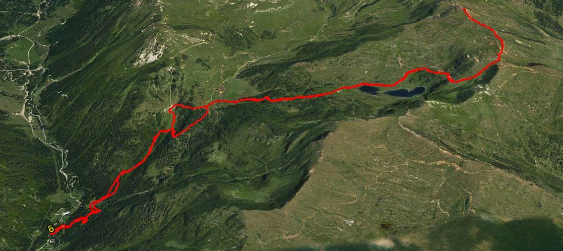 Monte Brealone 2265 m.