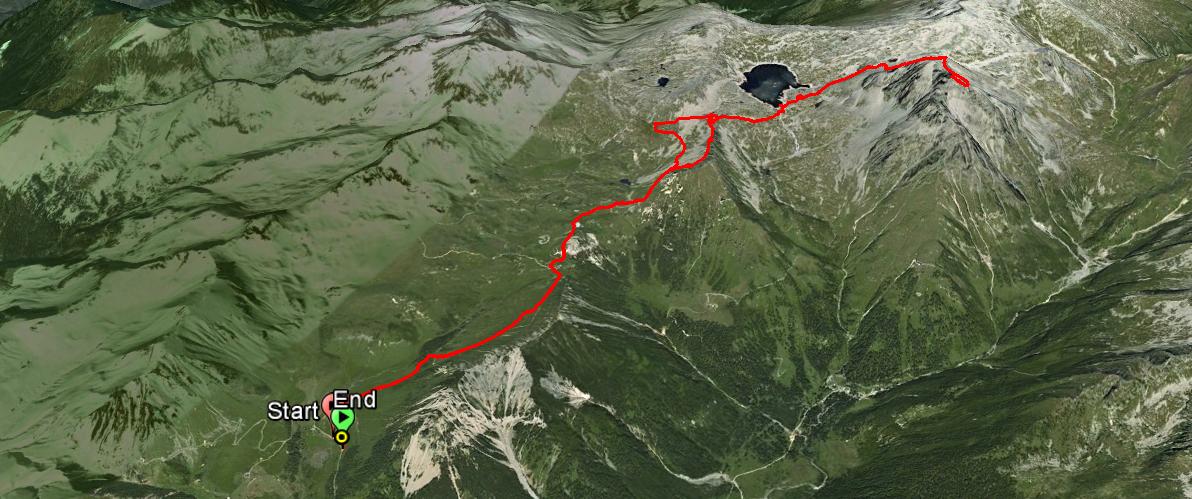 Cornone di Blumone 2843 m.
