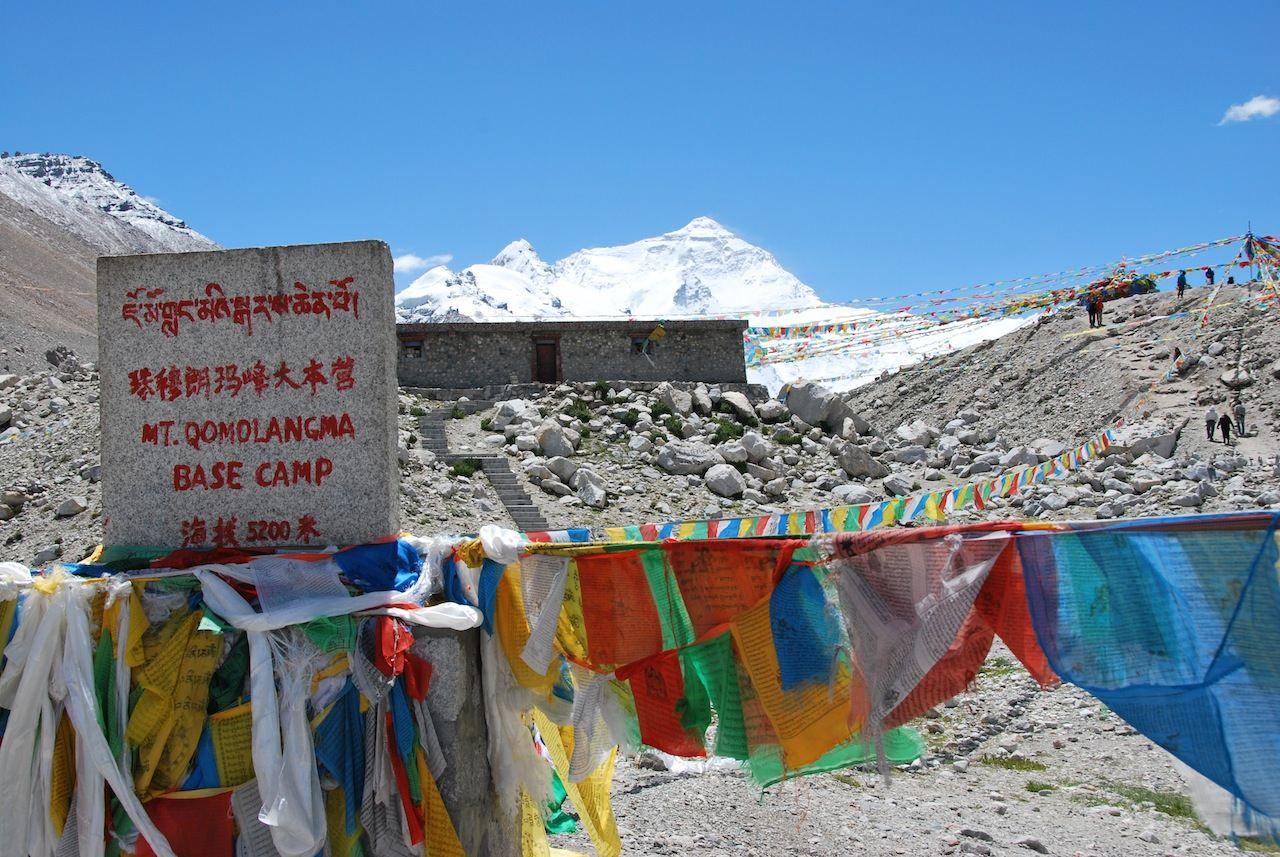 Everest - campo base (Foto: Roberto Moneghini)