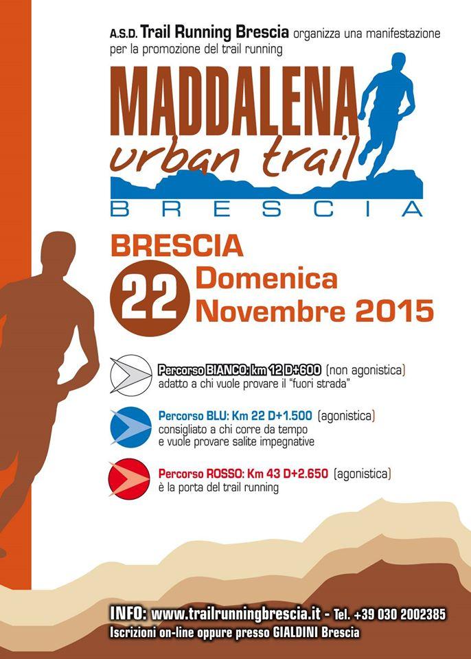 maddalena urban trail 2015