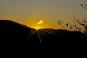monte palosso tramonto