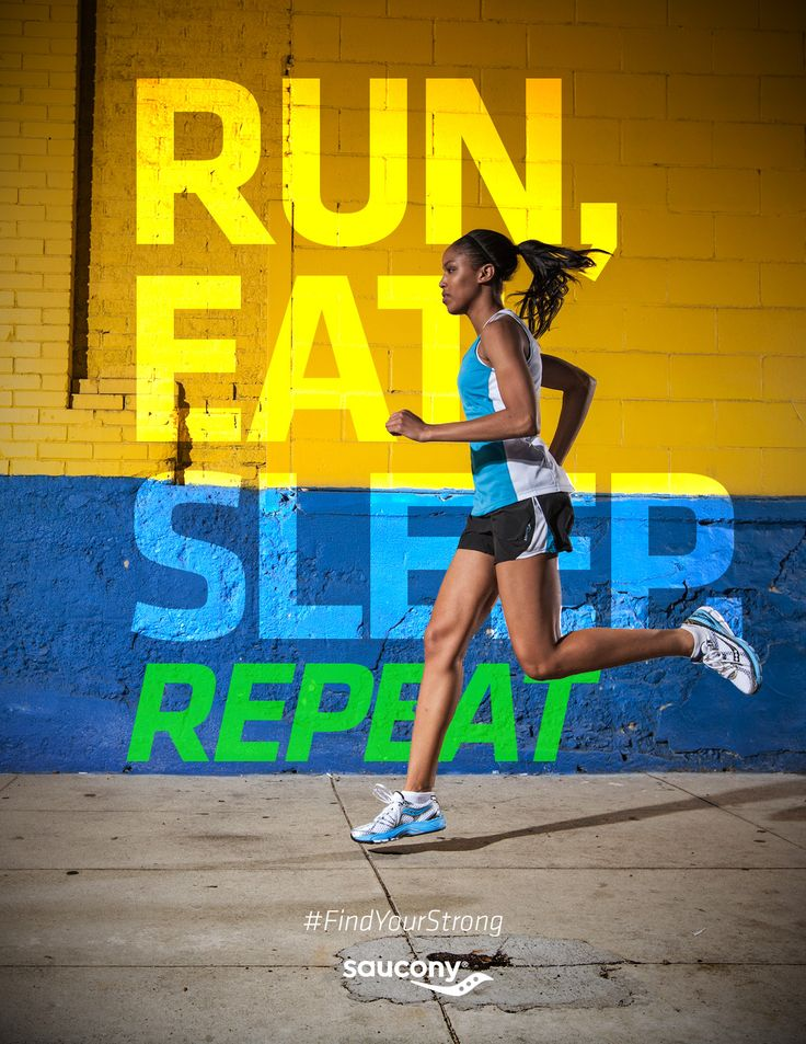 run sleep eat repeat
