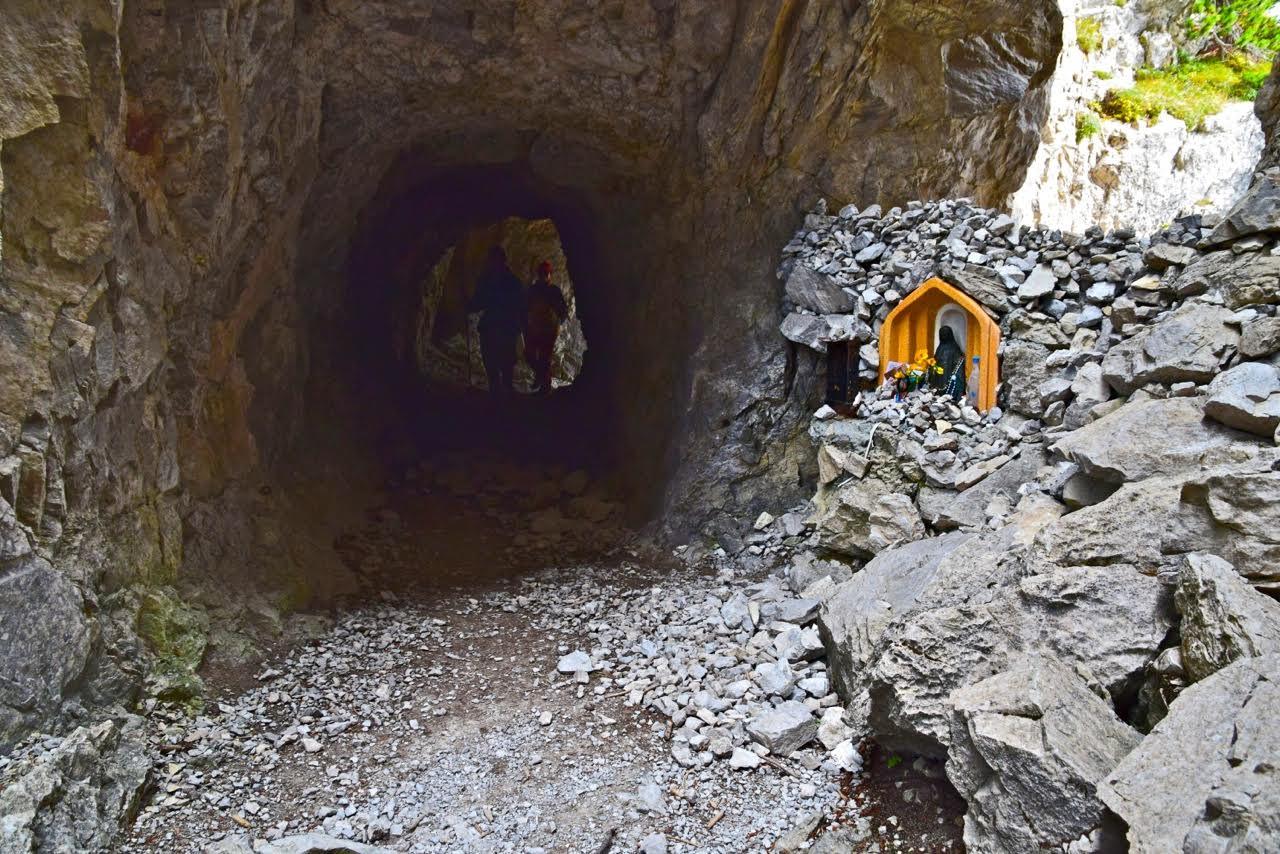 sentiero 318 verso il rifugio Brentei