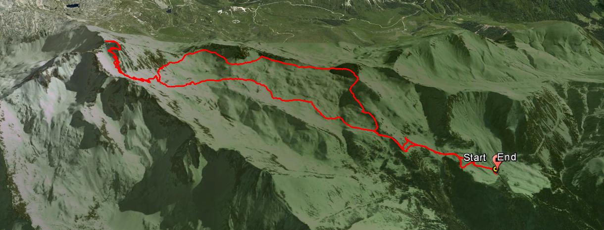 Monte Frerone 2673 m.