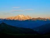 Alba sulla Marmolada (Foto: Aldo Borghetti)