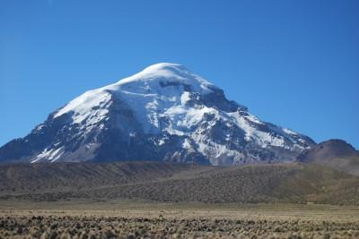 BOLIVIA VOLCAN SAJAMA