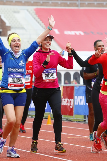 chiara-mezza maratona Amsterdam