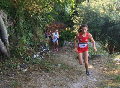 Corsa in montagna