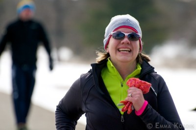 runners happy