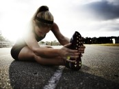 Stretching running
