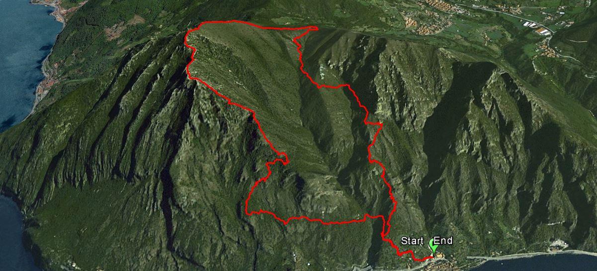 Corna Trentapassi 1248 m.