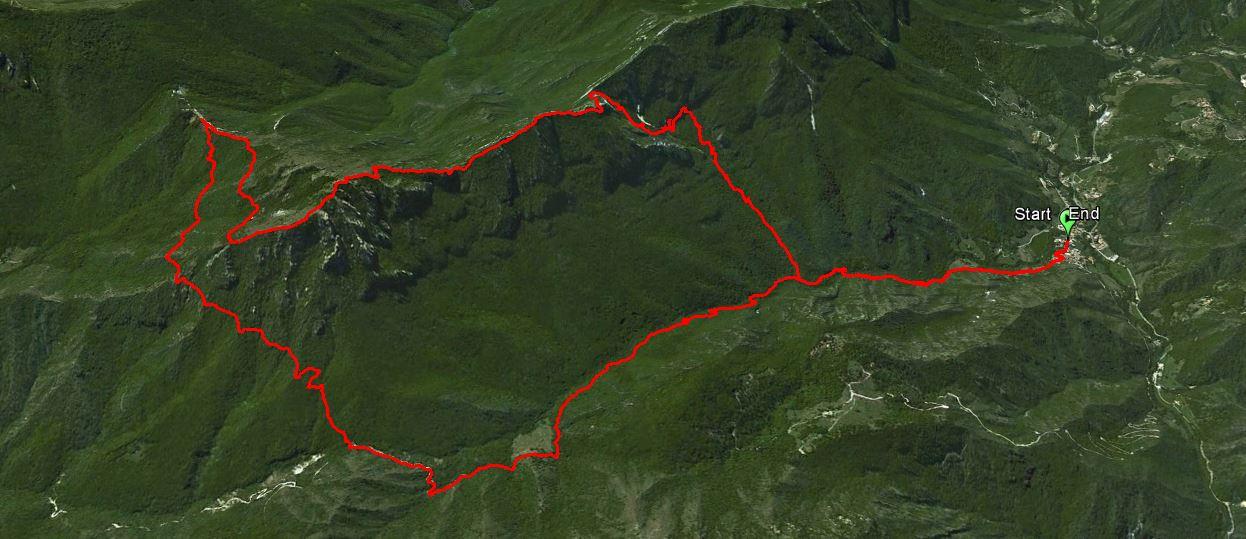 Monte Spino 1669 m. , Rif. Pirlo allo Spino 1165 m.