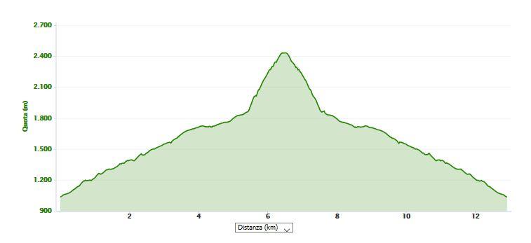 Pizzo Camino 2491 m.