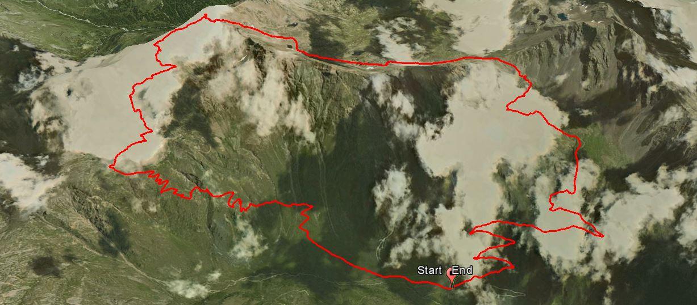 Punta di Ercavallo 3068 m.