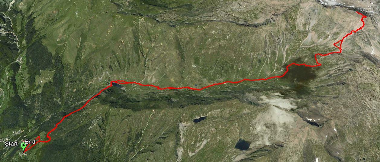 Monte Gleno 2882 m.