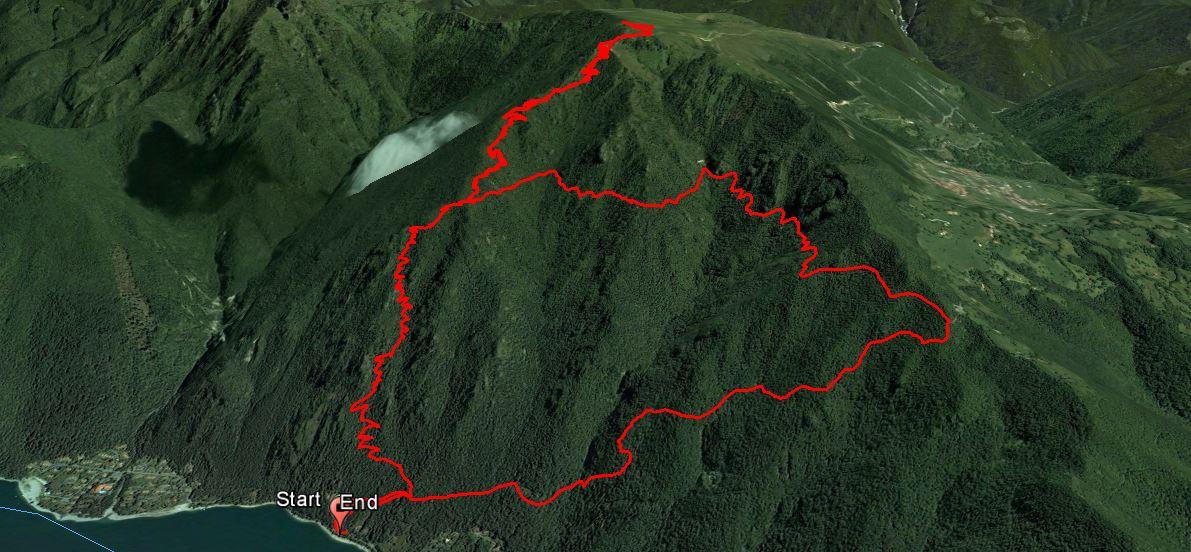 Monte Stino 1466 m.