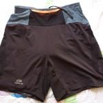 Pantaloncini Trail Kalenji fronte