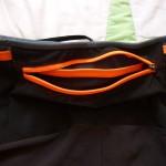 Pantaloncini Trail Kalenji tasca 1 aperta