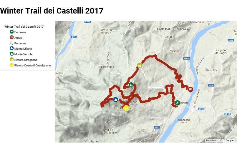 trail dei castelli