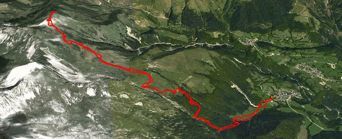 Monte Barbarossa 2146 m.
