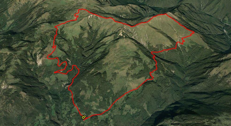 Pizzo Baciamorti 2006 m. , Monte Aralalta 2003 m. , Monte Sodadura 2011 m.