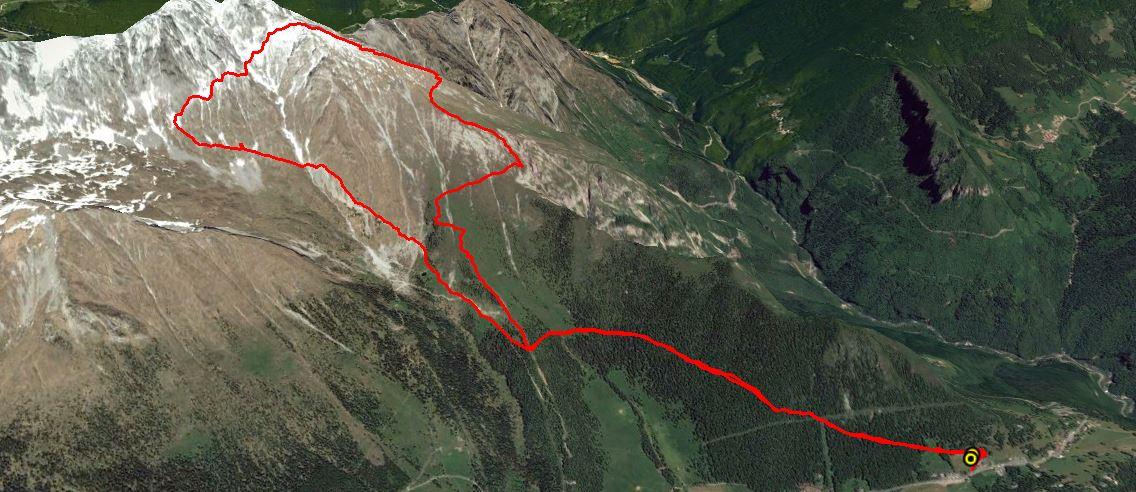 Monte Visolo 2370 m.