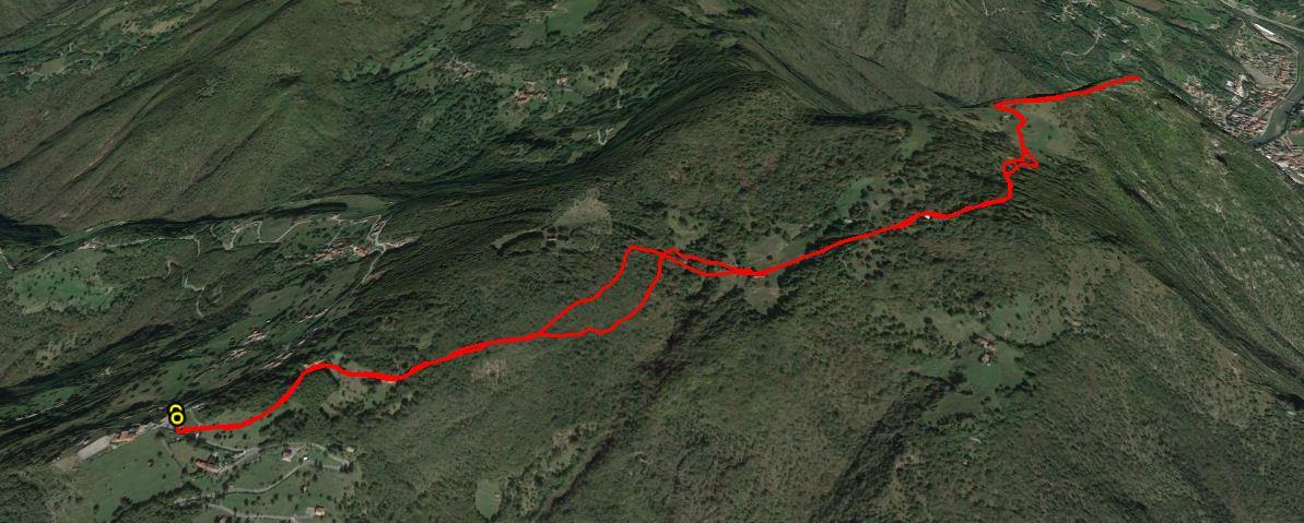 Monte Zucco 1232 m.