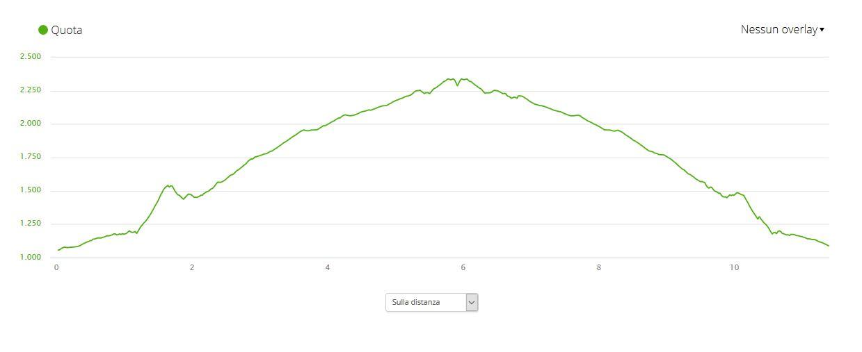Cima dei Ladrinai 2400 m.